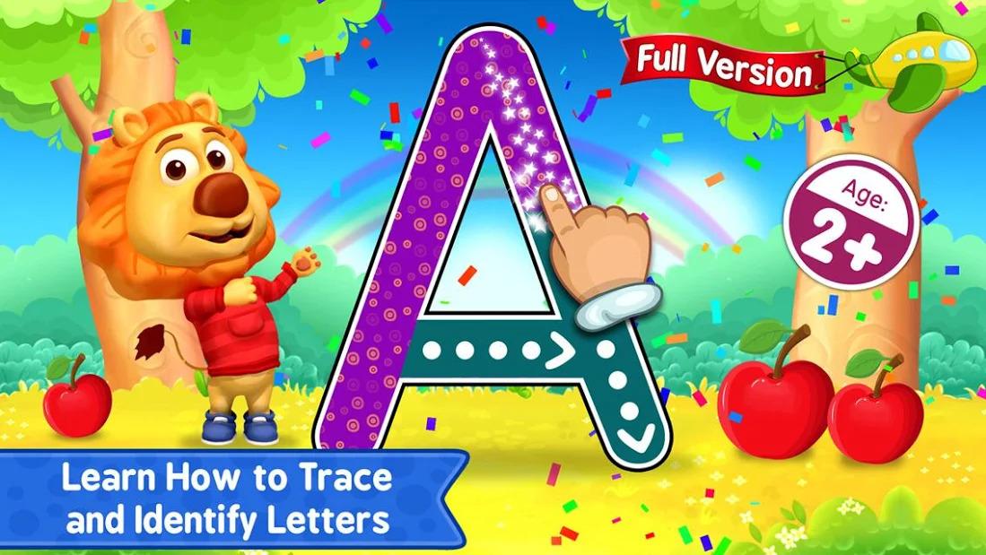Ứng dụng ABC Kids giúp bé tiếp xúc tiếng anh từ 2 tuổi